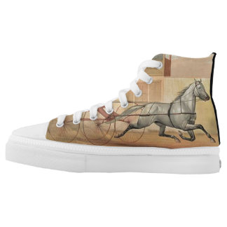 TOP Trot Champ High-Top Sneakers