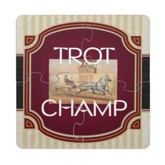 TOP Trot Champ Puzzle Coaster