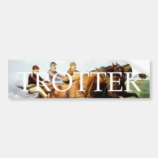 TOP Trotter Bumper Sticker