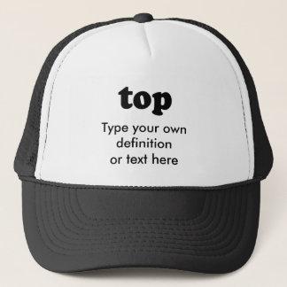 TOP TRUCKER HAT