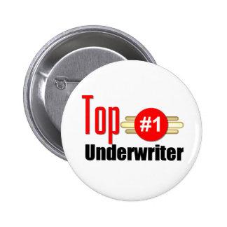 Top Underwriter 2 Inch Round Button