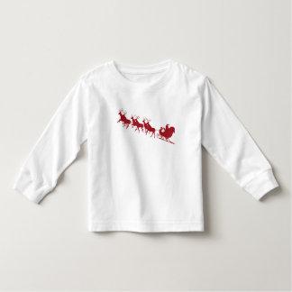 Top unisex de la camiseta de Santa del navidad de