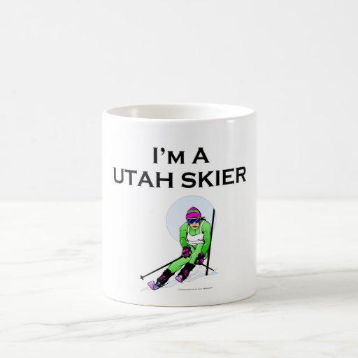 TOP Utah Skier Coffee Mug