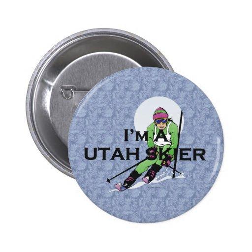 TOP Utah Skier Pins