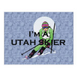 TOP Utah Skier Postcards