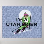 TOP Utah Skier Print