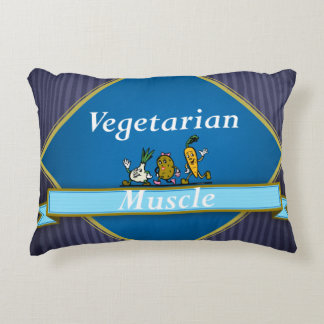 TOP Vegetarian Muscle Accent Pillow