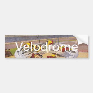 TOP Velodrome Circles Car Bumper Sticker