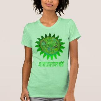 Top verde de la yoga de Tara Camisetas