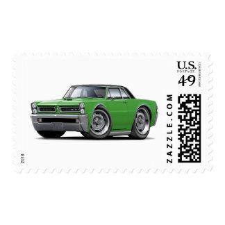 Top Verde-Negro de 1965 GTO Sello