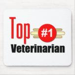 Top Veterinarian Mousepad