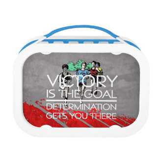TOP Victory Goal Track Lunch Box