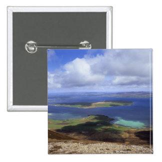 Top view: burra sound, graemsay & orkney mainland pins