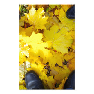 Top view of a foot in the autumn boots family of t stationery
