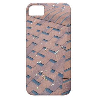 Top view of brown roof shingles iPhone SE/5/5s case