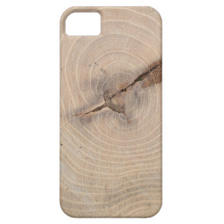 Top view of the annual rings of cut tree closeup iPhone SE/5/5s case