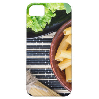 Top view of the ingredients for cooking food iPhone SE/5/5s case
