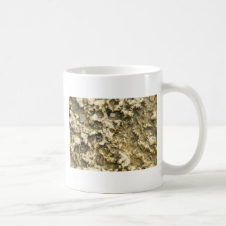 Top view of the natural background closeup coffee mug