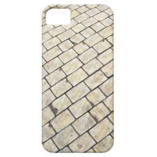 Top view of the pavement of rectangular stones iPhone SE/5/5s case