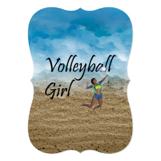 TOP Volleyball Girl Card