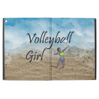 "TOP Volleyball Girl iPad Pro 12.9"" Case"