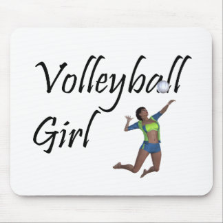 TOP Volleyball Girl Mouse Pad