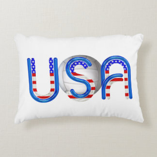 TOP Volleyball in the USA Accent Pillow
