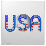 TOP Volleyball in the USA Cloth Napkin