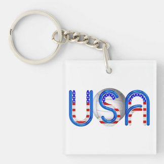 TOP Volleyball in the USA Keychain