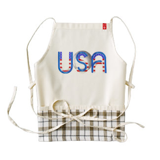 TOP Volleyball in the USA Zazzle HEART Apron