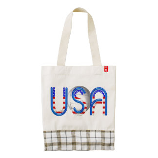 TOP Volleyball in the USA Zazzle HEART Tote Bag