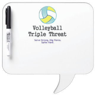 TOP Volleyball Triple Dry Erase Board