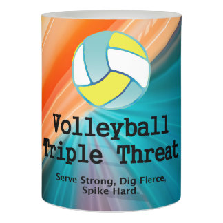 TOP Volleyball Triple Flameless Candle