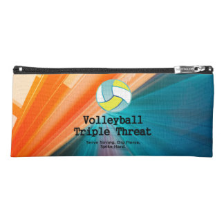 TOP Volleyball Triple Pencil Case
