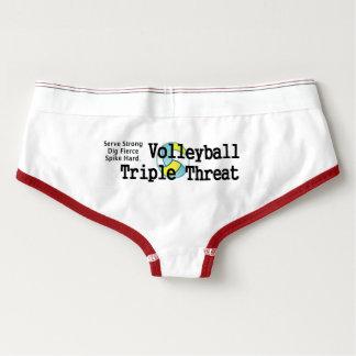 TOP Volleyball Triple Threat Briefs