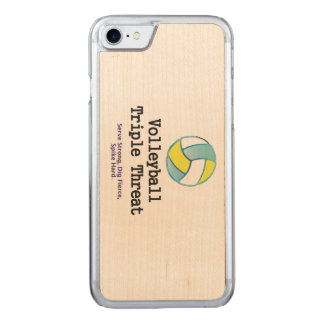 TOP Volleyball Triple Threat Carved iPhone 8/7 Case