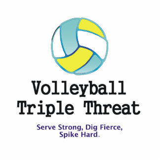 TOP Volleyball Triple Threat Cutout