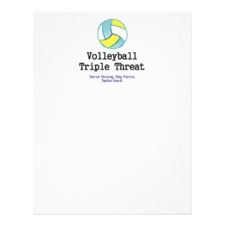 TOP Volleyball Triple Threat Flyer