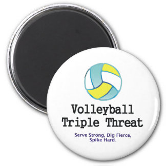 TOP Volleyball Triple Threat Magnet