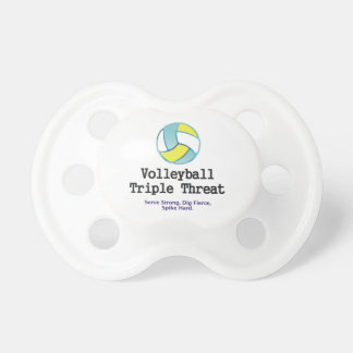 TOP Volleyball Triple Threat Pacifier