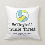 TOP Volleyball Triple Threat Pillows