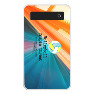 TOP Volleyball Triple Threat Power Bank