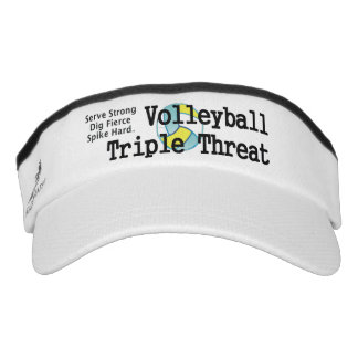 TOP Volleyball Triple Threat Visor