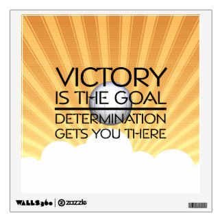 TOP Volleyball Victory Slogan Wall Decals