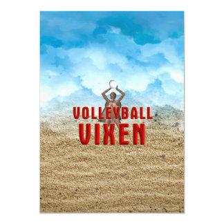 TOP Volleyball Vixen Card