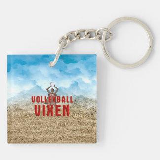 TOP Volleyball Vixen Keychain
