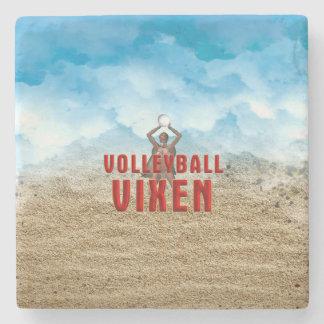 TOP Volleyball Vixen Stone Coaster