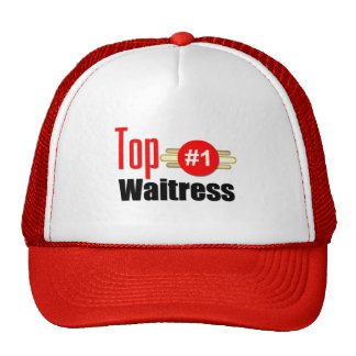 Top Waitress Trucker Hat