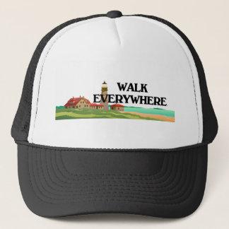 TOP Walk Everywhere Trucker Hat