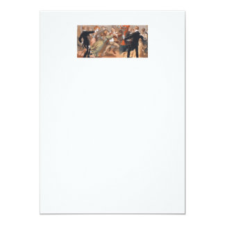 TOP Waltzing Old School 5x7 Paper Invitation Card